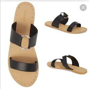 Topshop | Leather Sandals